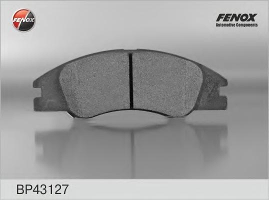 Колодки тормозные дисковые Fenox. BP43127BP43127