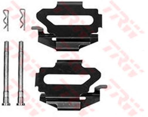 Комплект монтажный TRW, для тормозных колодок. PFK344PFK344