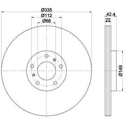 Диск тормозной Textar, 2 шт. 9217700392177003