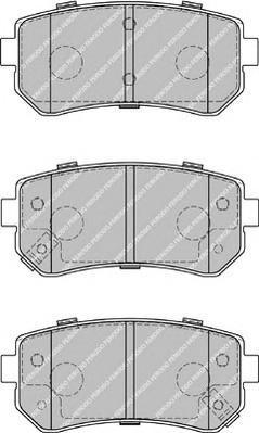 Колодки тормозные дисковые Ferodo Premier. FDB1956FDB1956