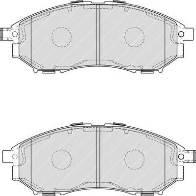 Колодки тормозные дисковые Ferodo Premier. FDB4177FDB4177
