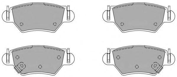 Колодки тормозные дисковые Fremax, комплект. FBP-1082FBP-1082