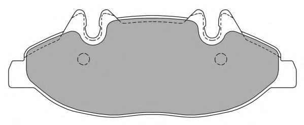 Колодки тормозные дисковые Fremax, комплект. FBP-1382FBP-1382