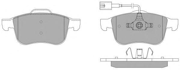 Колодки тормозные дисковые Fremax, комплект. FBP-1473FBP-1473