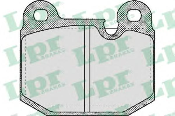 Колодки тормозные дисковые LPR / AP. 05P21005P210