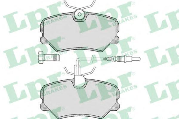 Колодки тормозные дисковые LPR / AP. 05P29305P293