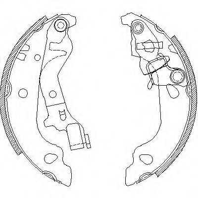 Колодки тормозные дисковые Remsa, комплект. 409900409900
