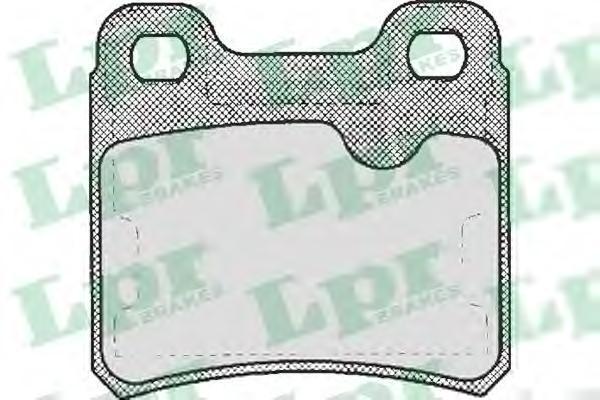 Колодки тормозные дисковые LPR / AP. 05P33305P333