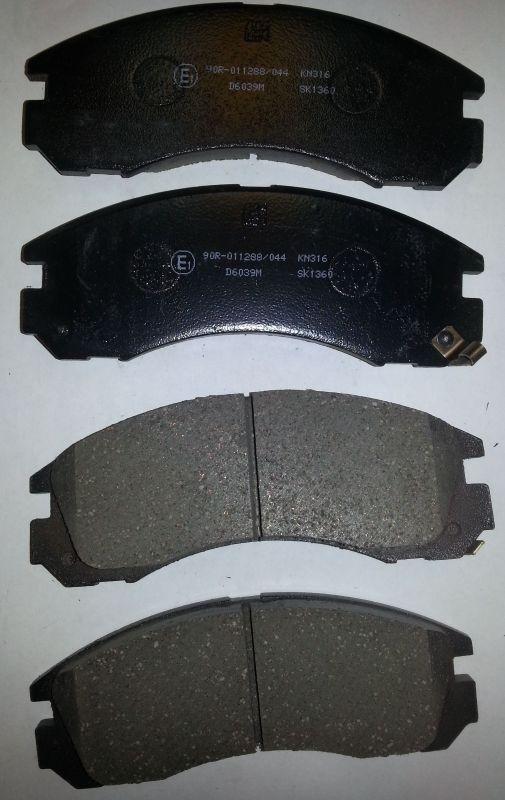 Колодки тормозные дисковые Kashiyama, передние. D6039MD6039M