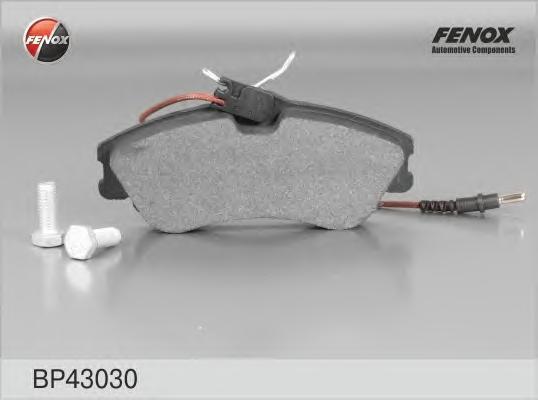 Колодки тормозные дисковые Fenox. BP43030BP43030