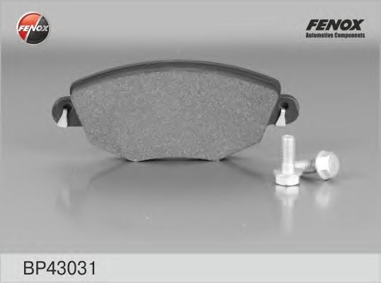 Колодки тормозные дисковые Fenox. BP43031BP43031
