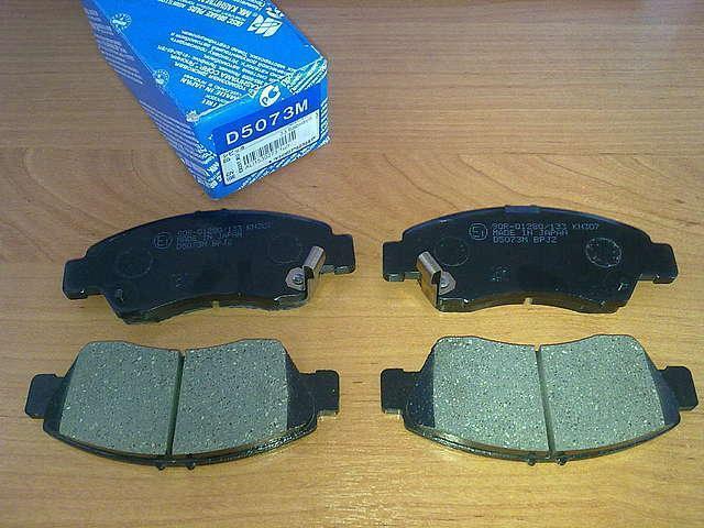 Колодки тормозные дисковые Kashiyama, передние. D5073MD5073M