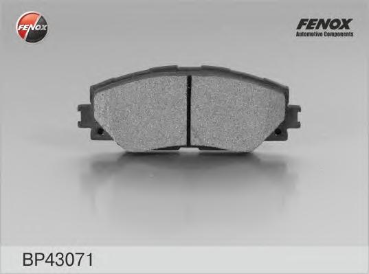 Колодки тормозные дисковые Fenox. BP43071BP43071