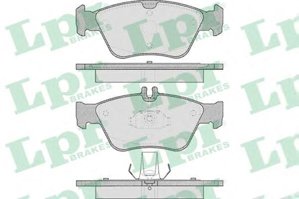 Колодки тормозные дисковые LPR / AP. 05P40905P409