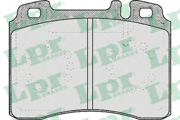 Колодки тормозные дисковые LPR / AP. 05P42305P423