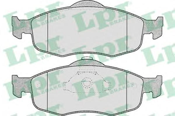Колодки тормозные дисковые LPR / AP. 05P47105P471