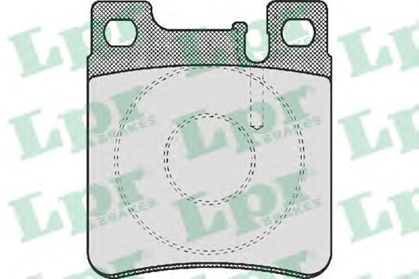 Колодки тормозные дисковые LPR / AP. 05P47705P477