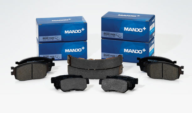 Колодки тормозные дисковые Mando. MPH19MPH19