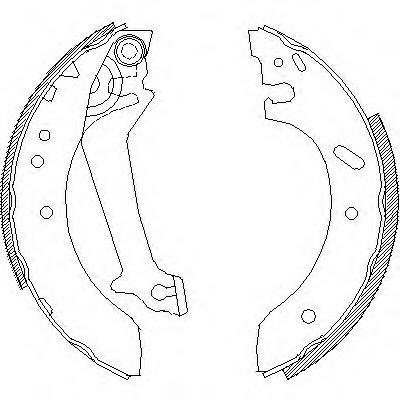 Колодки тормозные дисковые Remsa, комплект. 467000467000