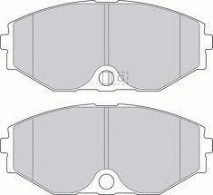 Колодки тормозные дисковые Kashiyama, передние. D1165MD1165M