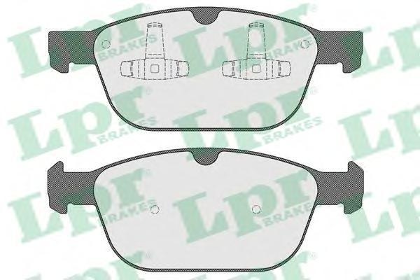 Колодки тормозные дисковые LPR / AP, комплект. 05P159705P1597