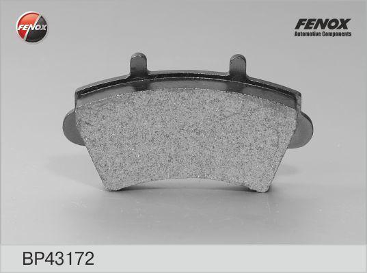 Колодки тормозные дисковые Fenox. BP43172BP43172