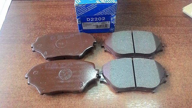 Колодки тормозные дисковые Kashiyama, передние. D2202D2202