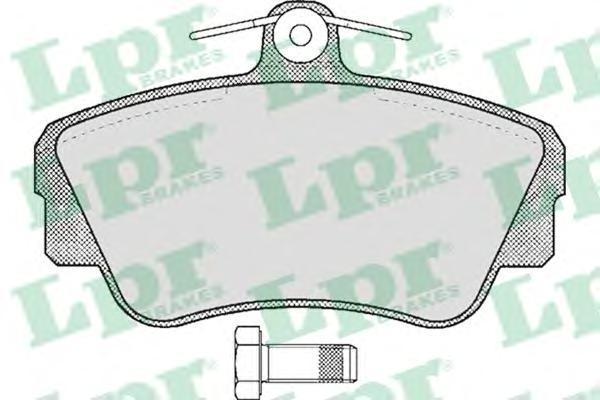 Колодки тормозные дисковые LPR / AP. 05P34705P347