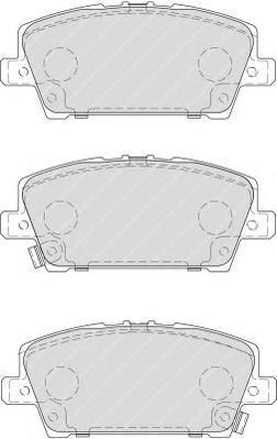 Колодки тормозные дисковые Ferodo Premier. FDB1859FDB1859