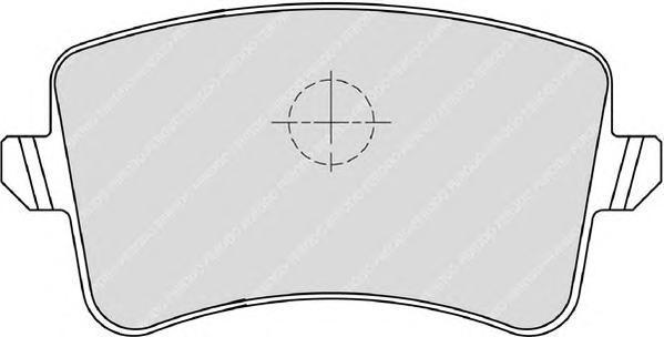 Колодки тормозные дисковые Ferodo Premier. FDB4050FDB4050