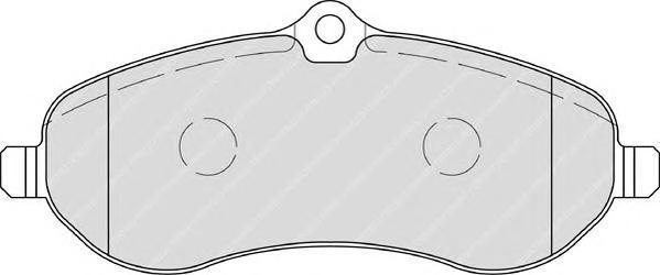 Колодки тормозные дисковые Ferodo Premier. FVR1771FVR1771