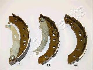 Колодки тормозные дисковые Japanparts, комплект. GF-511AFGF-511AF