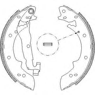 Колодки тормозные дисковые Remsa, комплект. 402702402702