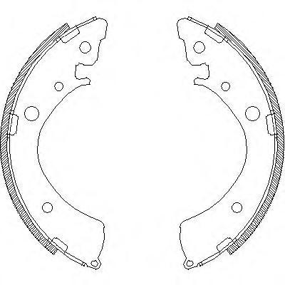 Колодки тормозные дисковые Remsa, комплект. 436700436700