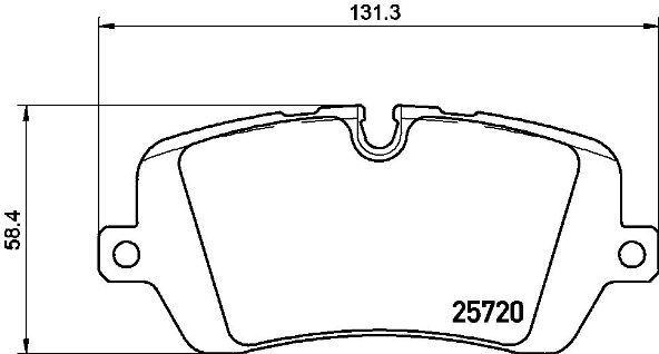 Колодки тормозные дисковые Brembo. P44021P44021