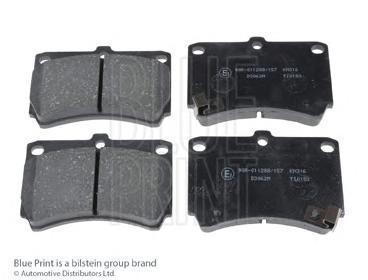 Колодки тормозные дисковые BLUE PRINT. ADM54249ADM54249