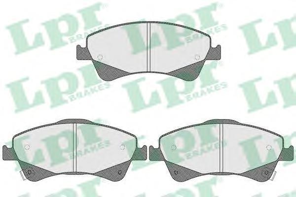 Колодки тормозные дисковые LPR / AP, комплект. 05P158905P1589