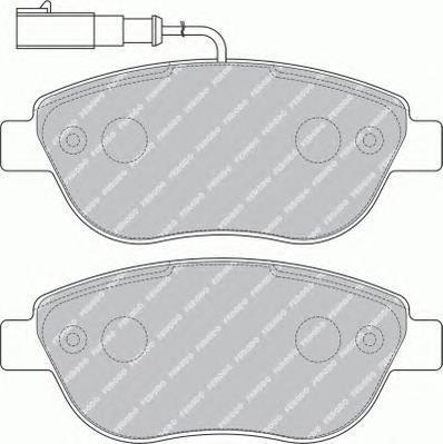 Колодки тормозные дисковые Ferodo Premier. FDB1467FDB1467