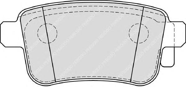 Колодки тормозные дисковые Ferodo Premier. FDB4186FDB4186