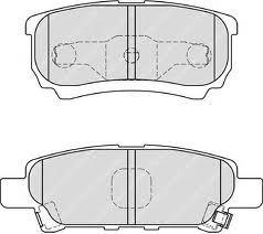 Колодки тормозные дисковые Kashiyama, задние. D6124D6124