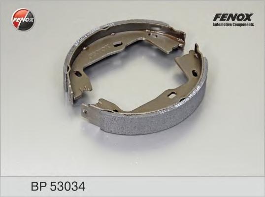 Колодки тормозные барабанные Fenox. BP53034BP53034