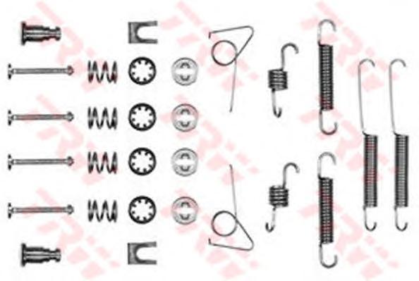 Комплект монтажный TRW, для тормозных колодок. SFK102SFK102