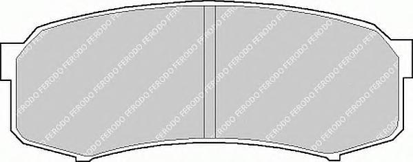 Колодки тормозные дисковые Ferodo Premier. FDB1021FDB1021