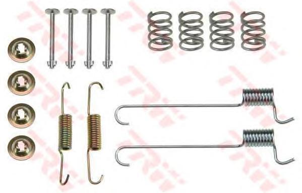 Комплект монтажный TRW, для тормозных колодок. SFK383SFK383
