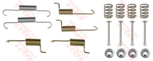 Комплект монтажный TRW, для тормозных колодок. SFK433SFK433