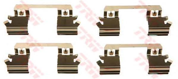 Комплект монтажный TRW, для тормозных колодок. PFK429PFK429
