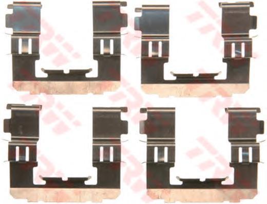 Комплект монтажный TRW, для тормозных колодок. PFK582PFK582
