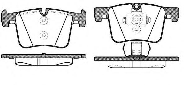 Колодки тормозные дисковые Remsa, комплект. 145700145700