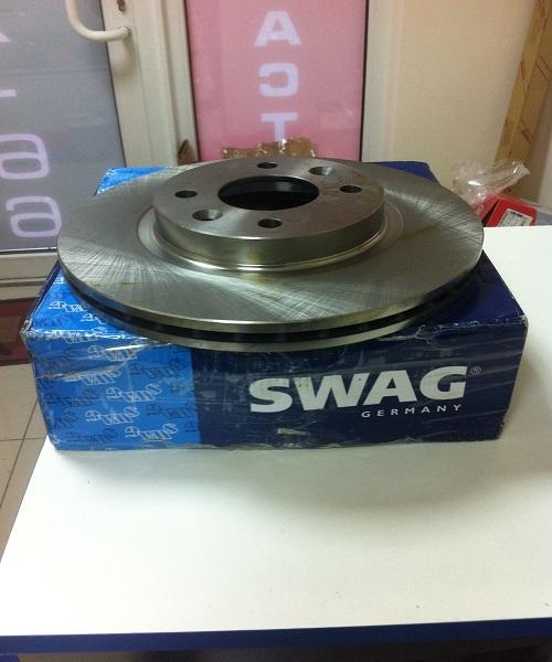 Диск тормозной Swag, 2 шт. 6090907360909073