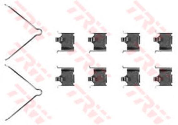 Комплект монтажный TRW, для тормозных колодок. PFK328PFK328